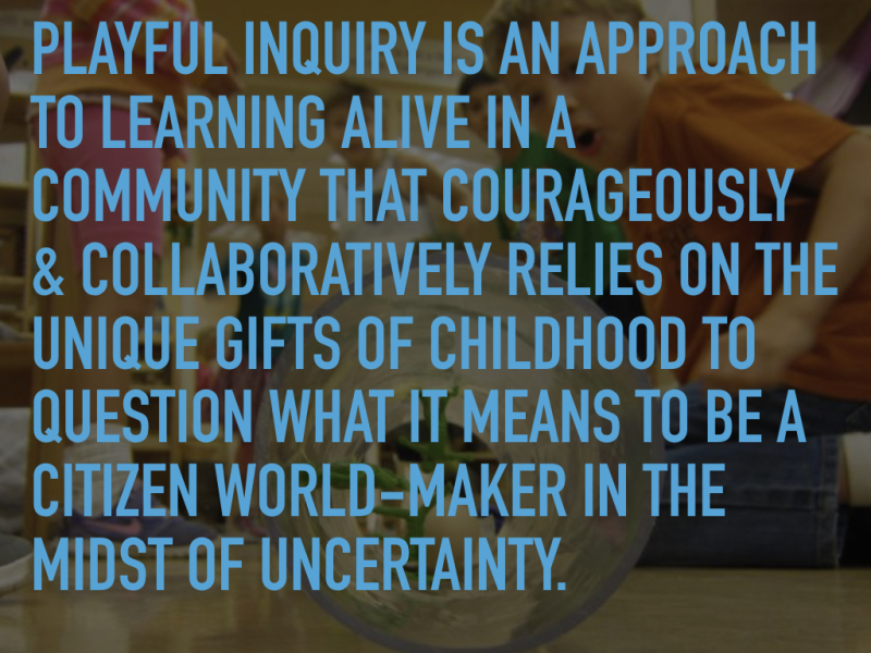 Playful inquiry definition.001